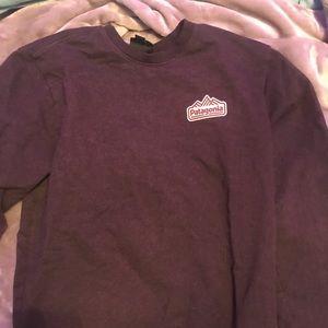 Chocolate Patagonia crew sweatshirt